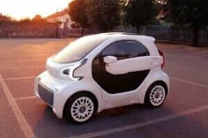 Технології Китайці запускають у серійне виробництво електрокар, надрукований на 3D-принтері 3d авто кнр новина транспорт у світі