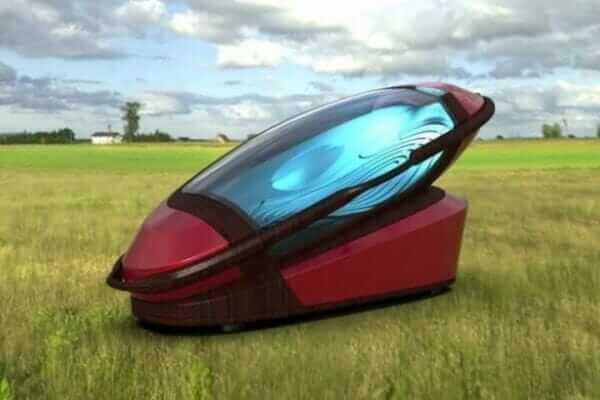 В Амстердамі створили капсулу для самогубств, надруковану на 3D-принтері