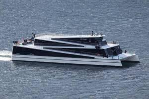 Технології У Норвегії запустили перший у світі електричний катамаран на 400 пасажирів екологія електротранспорт новина норвегія транспорт