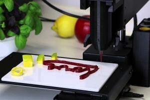 Технології У Південній Кореї навчилися друкувати їжу на 3D-принтері 3d Їжа корея новина