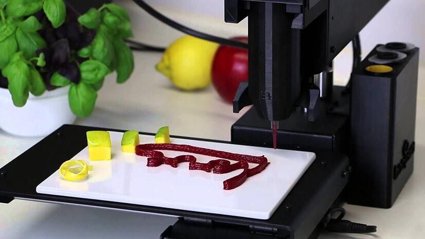 У Південній Кореї навчилися друкувати їжу на 3D-принтері