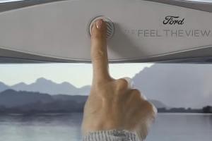 Технології Незрячі в авто зможуть «бачити» краєвид через нове вікно із шрифтом Брайля Ford авто здоров'я новина сша транспорт