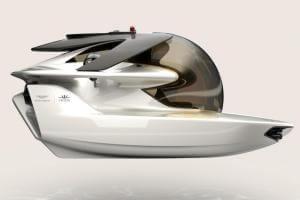 Технології Компанія, що робила авто для Джеймса Бонда, створила електричний підводний човен британія електрочовен новина транспорт