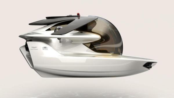 Компанія, що робила авто для Джеймса Бонда, створила електричний підводний човен