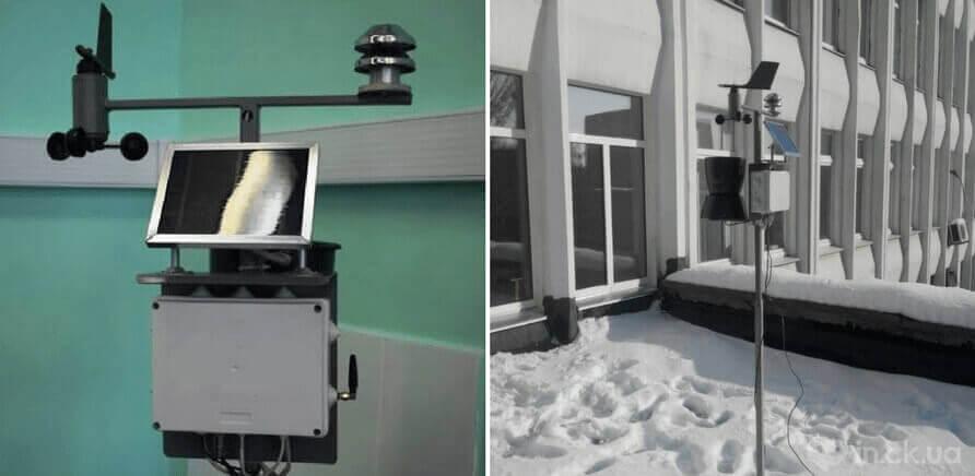 Черкаський студент створив унікальну метеостанцію, що збирає дані про забруднення повітря