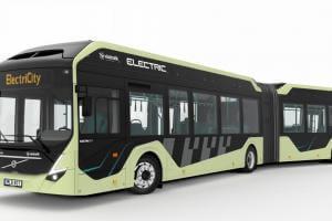 Життя Електробуси Volvo будуть підзаряджатись під час зупинок volvo електромобіль новина транспорт швеція