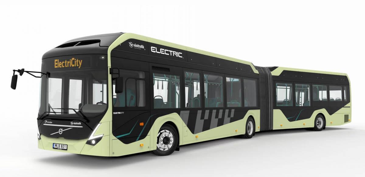Електробуси Volvo будуть підзаряджатись під час зупинок