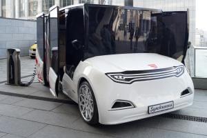 Технології У Івано-Франківську вже цього літа їздитиме туристичний електромобіль з інтерактивним аудіогідом електромобіль івано-франківськ новина транспорт Туризм україна