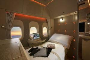 Технології Авіакомпанія Emirates представила літак з моніторами замість ілюмінаторів авіа новина ОАЕ транспорт