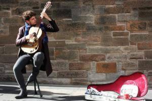 Життя У Лондоні вуличні музиканти збиратимуть гроші через термінали банкибританіягрошімузикановина