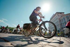 Життя У Києві створили мапу всіх доріжок, смуг та паркінгів для велосипедів Київ новина україна