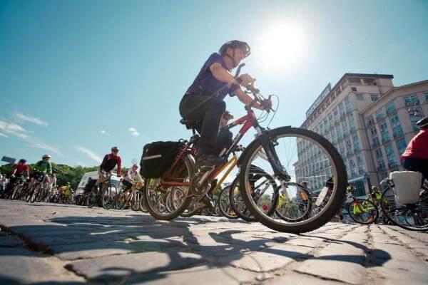 У Києві створили мапу всіх доріжок, смуг та паркінгів для велосипедів