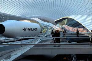Технології Як працює Hyperloop? Hyperloop ілон маск стаття транспорт