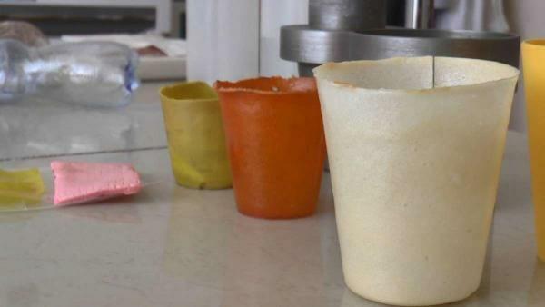 У Сумах створили екологічний матеріал, з якого можна робити одноразовий посуд та упаковку