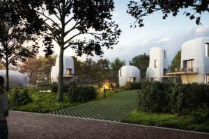 Технології У Голландії побудують перший у світі будинок за допомогою 3D-принтера 3d Будівництво голландія