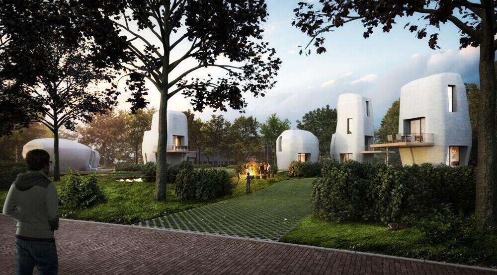 У Голландії побудують перший у світі будинок за допомогою 3D-принтера