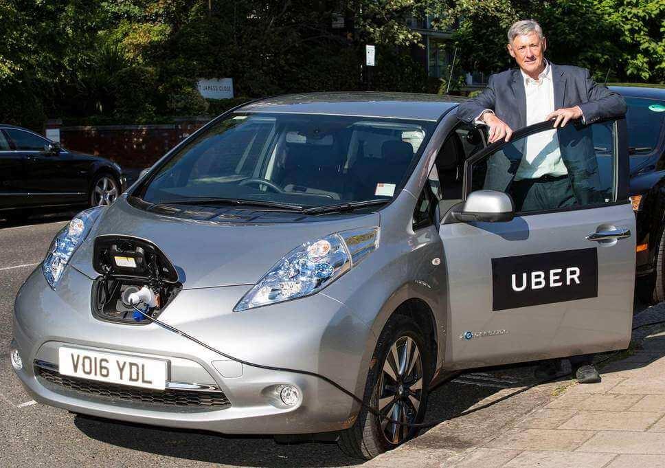 Uber доплачуватиме водіям електрокарів