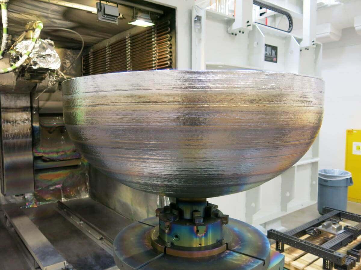 В США на 3D принтері надрукували найбільшу деталь у космічній галузі