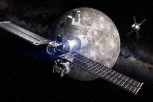Життя 2020 року NASA запустить постійну станцію на орбіті Місяця nasa космос Місяць новина сша у світі