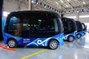 Технології 2019 року на дорогах Японії запустять самокеровані електроавтобуси Baidu електротранспорт новина транспорт у світі японія