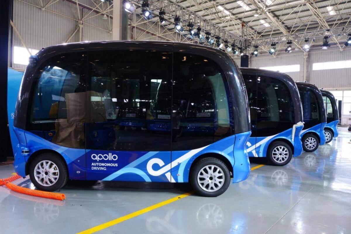 2019 року на дорогах Японії запустять самокеровані електроавтобуси Baidu