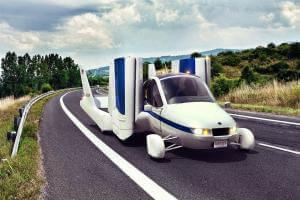 Технології 2019 року починається масовий продаж летючого автомобіля Terrafugia's Transition авіа новина сша транспорт у світі