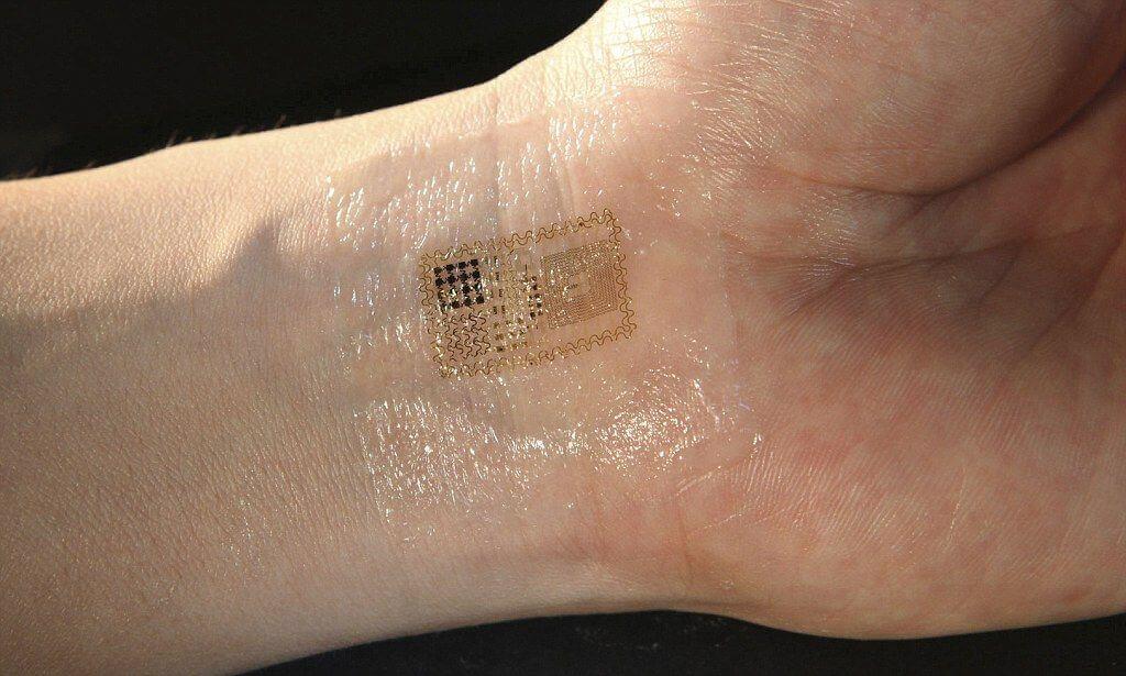 В Китаї створили електронну шкіру, схожу на тату