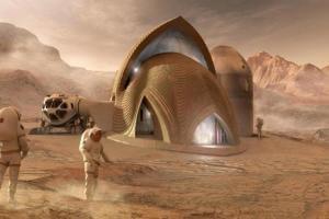 Технології NASA показала найкращі проекти майбутніх баз на Марсі nasa космос марс новина сша у світі