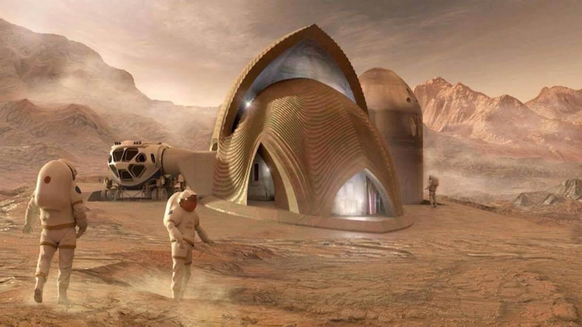 NASA показала найкращі проекти майбутніх баз на Марсі