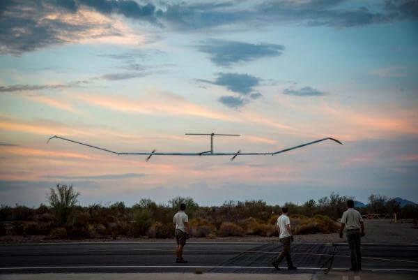 Безпілотник Airbus із розмахом крил 25 м провів без посадки в повітрі 14 днів