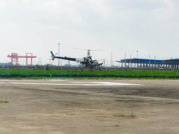 В Китаї успішно пройшов тестування перший безпілотний гелікоптер