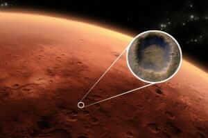 Життя На Марсі знайшли підземне озеро площею 20 кв. км європа космос марс новина у світі