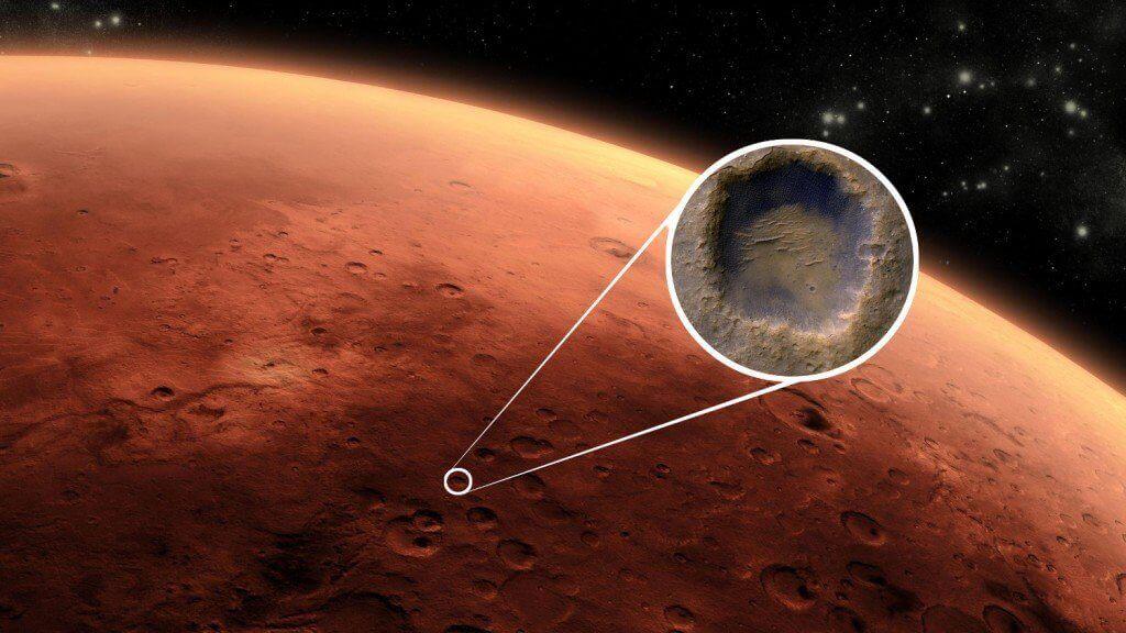 На Марсі знайшли підземне озеро площею 20 кв. км
