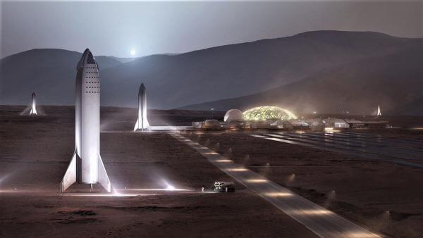 Ілон Маск побудує першу базу на Марсі 2028 року