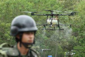 Життя У Колумбії дрони знищують зарості коки, щоб із неї не робили кокаїн безпека дрон колумбія Наркотики новина у світі