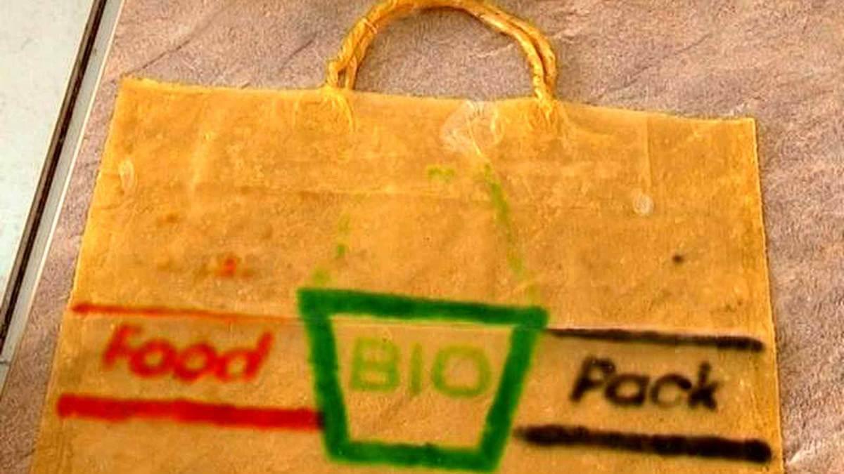 У Сумах створили біопакети, що можуть повністю замінити пластик