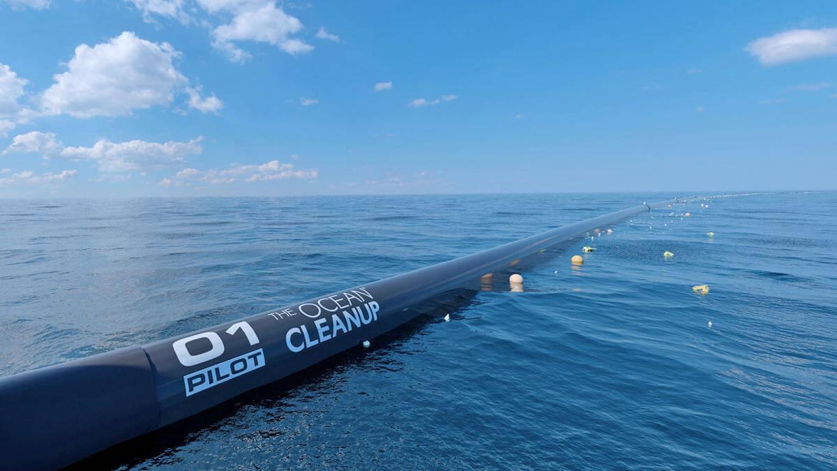 У Тихому океані  запустили очисну станцію, що збирає сміття