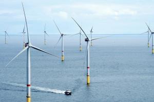 Життя У Великій Британії запрацювала плавуча вітроелектростанція, площею 20 тис. футбольних полів британія енергетика новина у світі