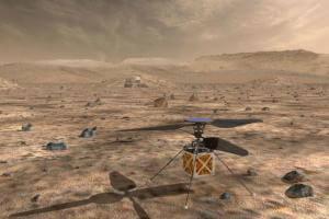 Життя NASA запустить гелікоптер у небо над Марсом nasaкосмосмарсновинасшау світі