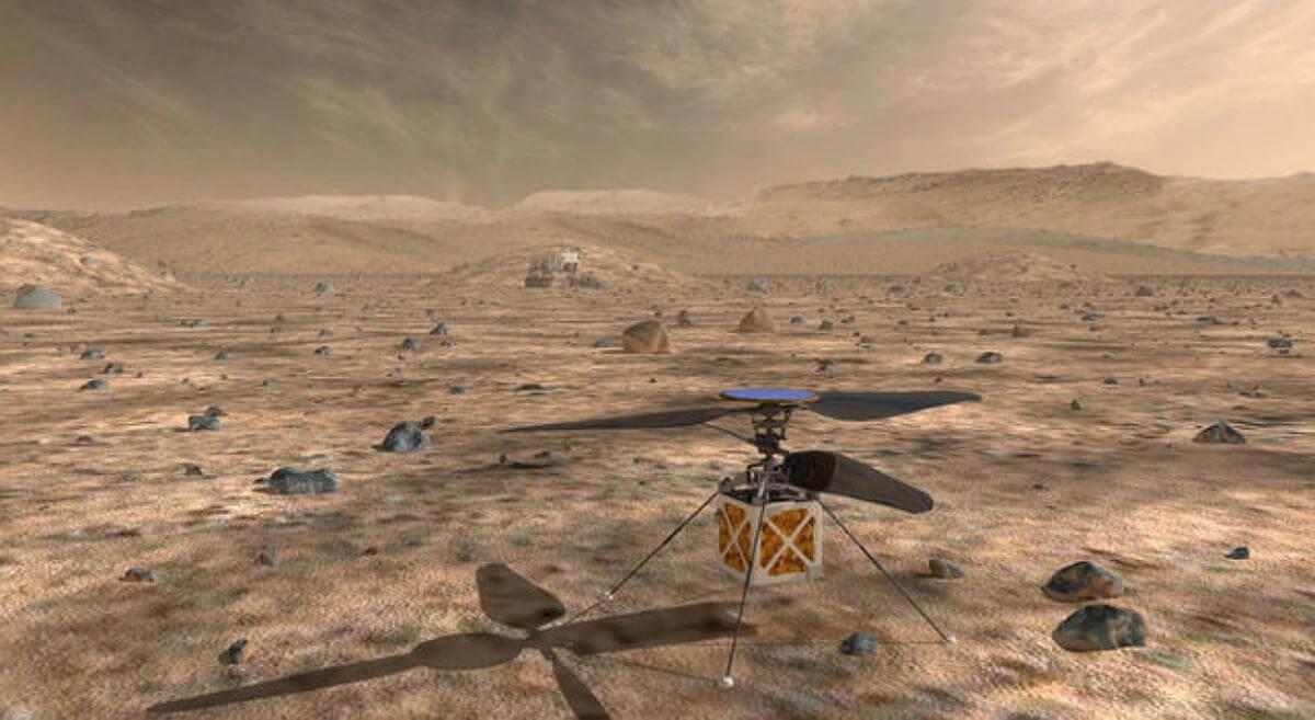 NASA запустить гелікоптер у небо над Марсом