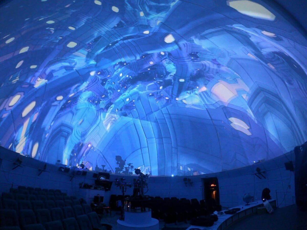 Унікальне світлове шоу в Дніпровському планетарії