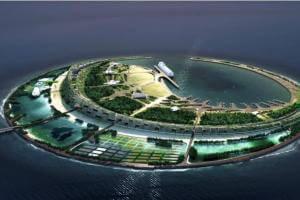Життя В Гонконзі створюють штучні острови, щоб розселити 1 млн людей кнр новина у світі