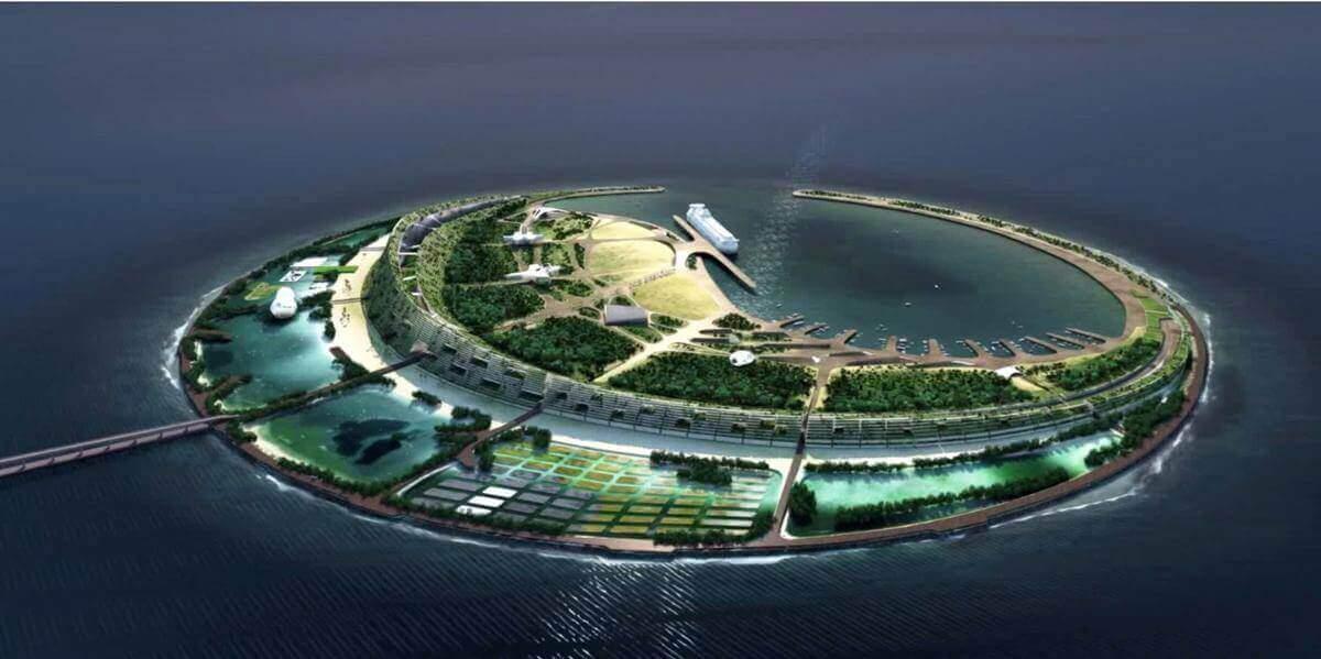В Гонконзі створюють штучні острови, щоб розселити 1 млн людей