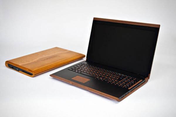 В Ірландії створили ноутбук з дерев'яним корпусом