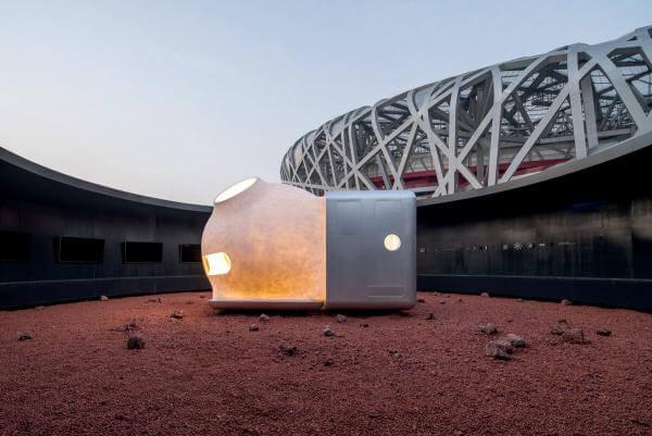 Xiaomi презентували будинок для марсіанських астронавтів