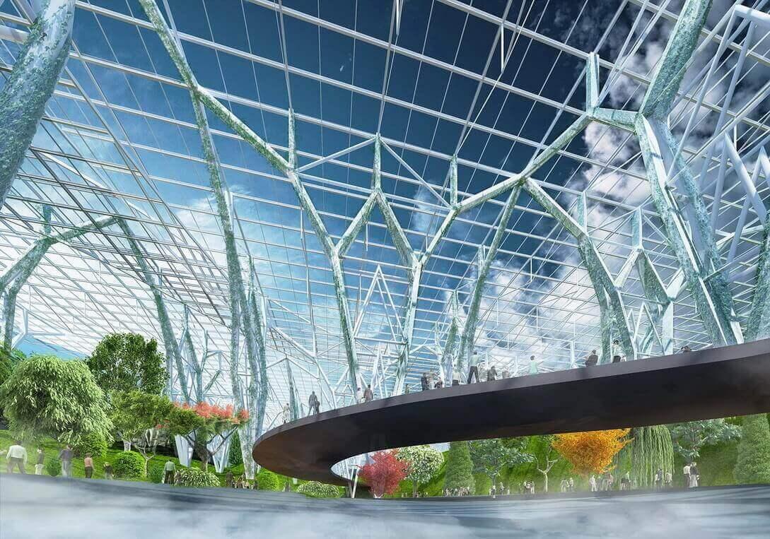 У Китаї збудують найбільший ботанічний сад у світі площею 15 га