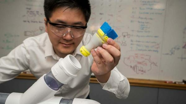 В США створили робота, який шукає тріщини у трубах