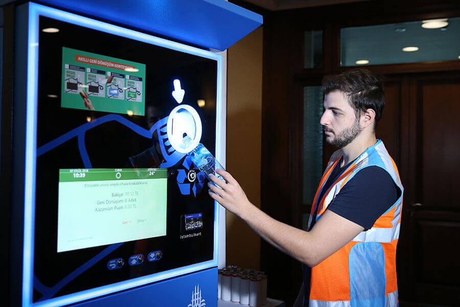 У Стамбулі можна обміняти пластикові пляшки на безкоштовний проїзд