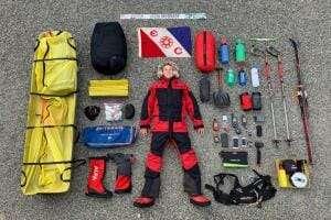 Життя Прямо зараз цей чоловік пішки перетинає Антарктиду Антарктика новина Туризм у світі