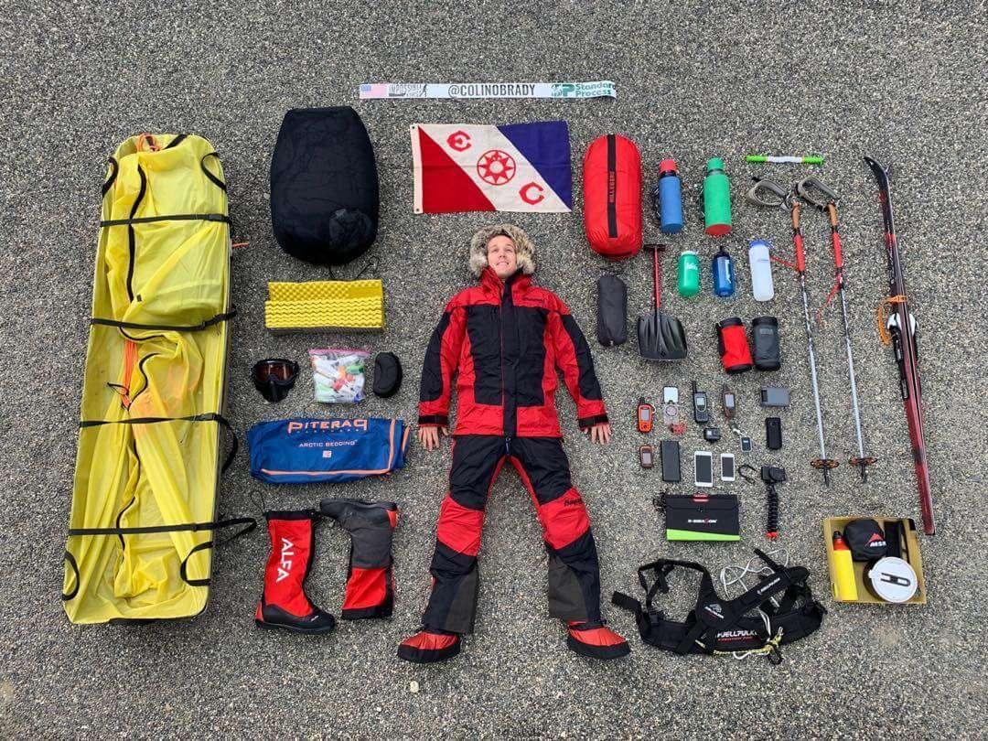 Прямо зараз цей чоловік пішки перетинає Антарктиду